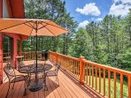Soak up some sun on the wrap-around porch during your stay at this 2-bedroom, 2-bathroom vacation rental house in