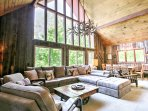 The property boasts 1,800 square feet of living space, sleeping accommodations for 10 and a spacious interior lined...