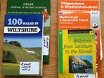 We welcome walkers, there is so much to see, muddy boot tray in lobby, books as seen, plus os maps.