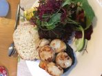 Scallops and black pudding from Taigh Ailean