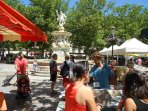 Place Carnot has many bars and restaurants as well as the market