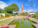 Seaton Jubilee Gardens, Clock Tower
