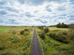 Greenway cycle route