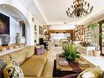 The Baganding Villa - Living area