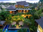The Baganding Villa - Wonderful setting