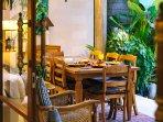 The Baganding Villa - Fresh fruit served each morning