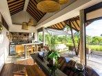 The Baganding Villa - Open air bar