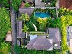 The Baganding Villa - Aerial view of Baganding