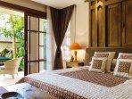 The Baganding Villa - Master Bedroom