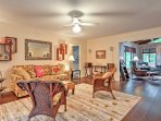 Unwind in the family room