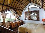 The Baganding Villa - Lumbung bedroom