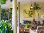 The Baganding Villa - Outdoor living space