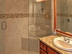 You'll love the alluring master bathroom!