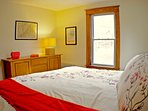 The King Bed in the Washington Bedroom- Farmhouse View