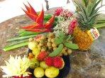 Enjoy Hawaiian fruits