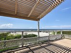 Escape to the Gulf and enjoy the views at this beachfront Galveston vacation rental house!