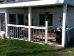 Beach House Porch area