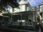 Freshly painted Victorian Close to Forsyth Park and River Street