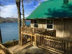 Huge Decks on every level with panoramic lake views