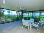 Cabana view with easy access to beach