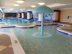 Indoor pool and kiddie's pool