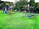 Playground 200M from the holiday home