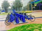 Melbourne Bike Share station is not even 5 mins walk from our apartment!