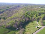 Antler Ridge (32 acres) from a drone