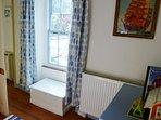 Back bedroom with window overlooking garden