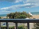 la mer vue de l'appartement