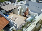Your own private rooftop terrace
