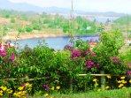 Garden. Patio view, Lake View, Garden View, Mountain View.