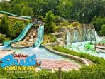 Dollywood Splash Country Water Park only 45 scenic miles away!   Save big on rates here.