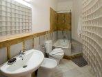 Bathroom No.2 with shower.