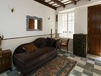 The house is located on calle Alonso el Sábio. A quiet street in the very centre of Seville.