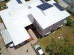 Boasting some solar panels
