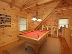 Game Room w/ Pool Table
