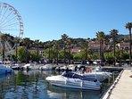 Prendre un verre au Port du Lavandou...
