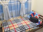 Single room excellent for lone traveller.