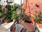Rooftop Terrace with amazing views for your enjoyment day or night!