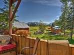 The property is situated in the Flathead Valley, nestled along the Flathead River.