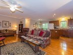 Great open floor plan perfect for gatherings.