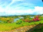 Patio View. Garden. View, Lake View & Mountain View.
