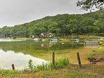 Lake Avery is a 5-minute drive away and offers guests the perfect spot for swimming, kayaking, fishing, boating, and...
