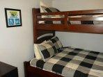 'Den' single over double bunk