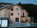 4* appartement chalet haut de gamme - Piscine couverte chauffee - Geneve