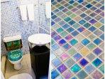 Modern bathroom and daily housekeeping