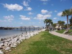 Saint Simons Pier on a glorious day - in 'The Village.'