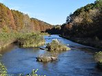 Mountain Fork River - fish for trout year round