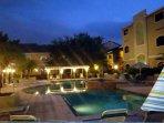 Enjoy this gorgeous heated pool